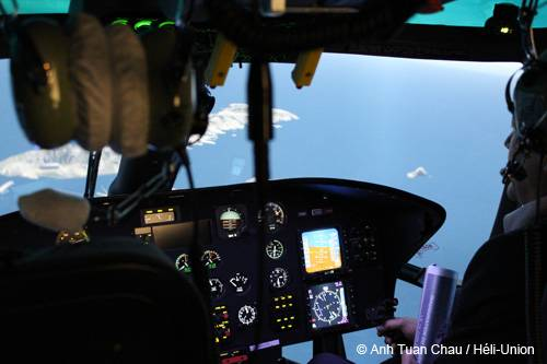 Héli-Union inaugurates its Eurocopter Dauphin AS365 N3/ N3+