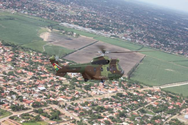 Bolivian Air Force AS332 C1e © Leticia Torres - 2014